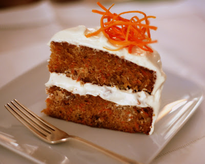 Carrot Cake With Ginger Lime Cream Cheese Frosting And Can D Carrot Nests