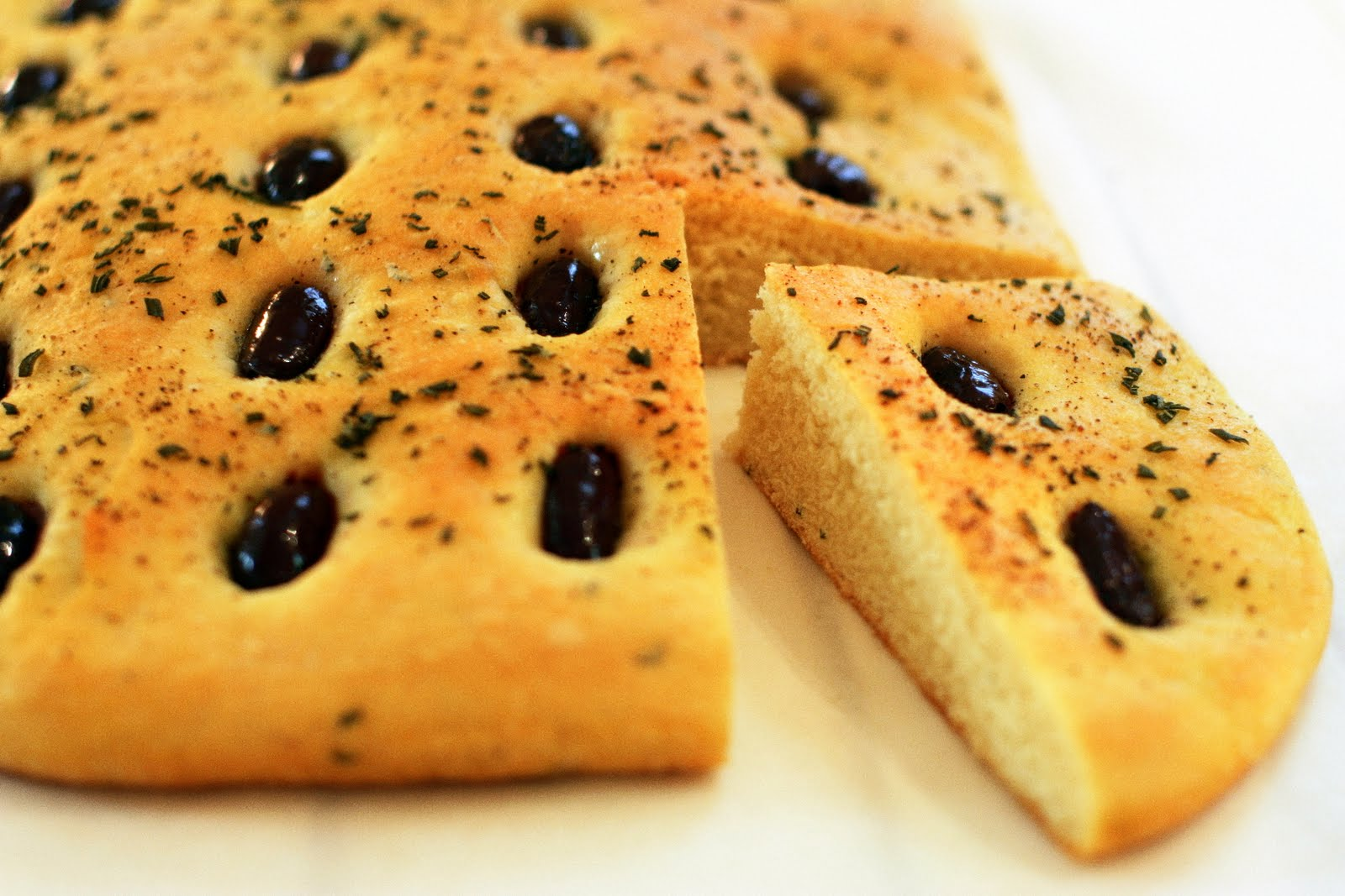 Tish Boyle Sweet Dreams: Rosemary and Black Olive Focaccia