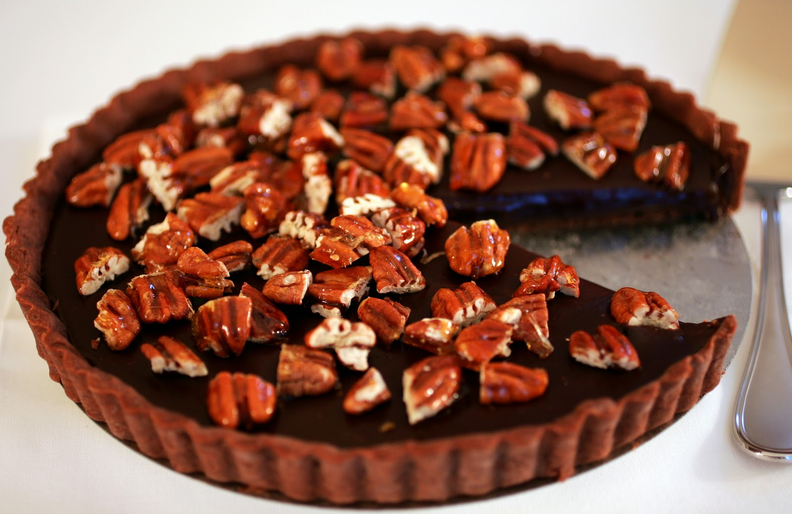 and peppermint whipped cream tart bourbon chocolate pecan pie pecan ...