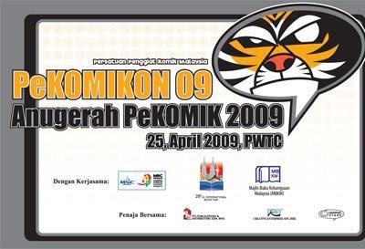 2 days to PeKOMIKON 2009
