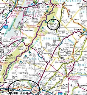 Wandering Virginia Old Rag Circuit March 25 2010
