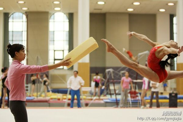 Chinese Gymnasts Tortured Into Shape For The 2012 London