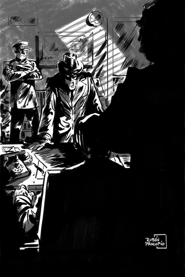 The Green Hornet Chronicles/ Sneak Peak at Interior Illos!