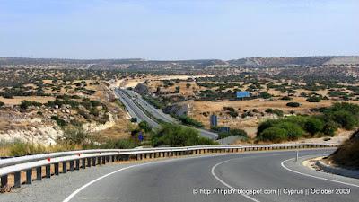Перспектива дороги, автобан Кипра by TripBY.info