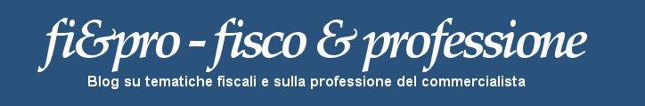 fi&pro - Fisco e Professione