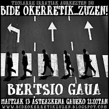 BERTSIO GAUA III