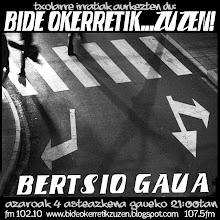 BERTSIO GAUA bi