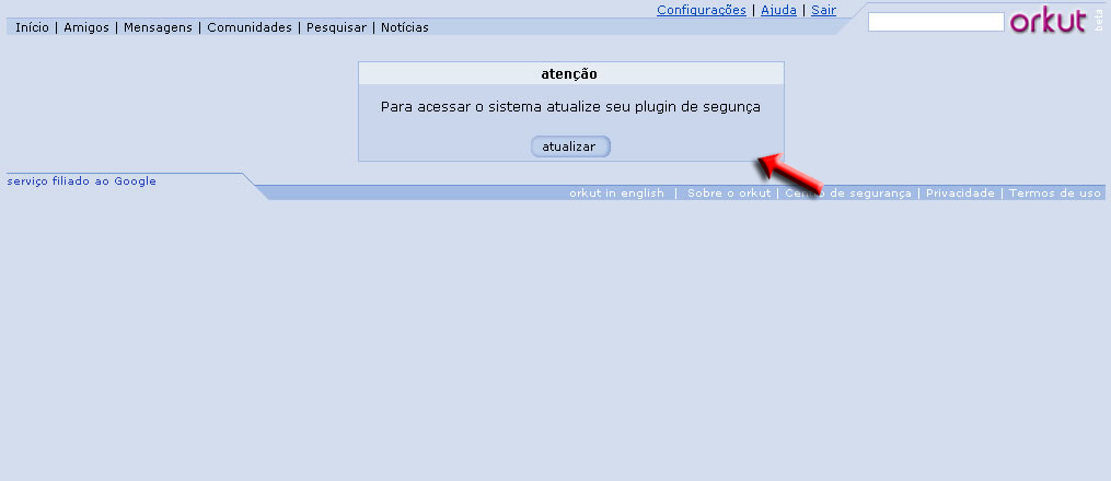 Orkut Security: [Virus Alert] Scraps and Fake Websites Can Hack Your Account and Community