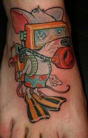 tatuagem comics, hq