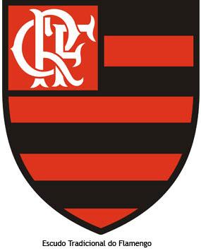 Escudo tradicional do Futebol do Flamengo
