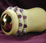Jeweled Silver Maple Pocket Kaleidoscope