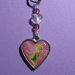 Tinker Bell Cell Phone Charm