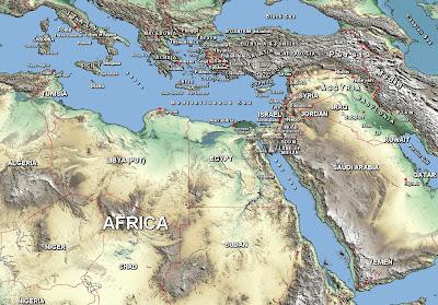 GEOGRAFIA BÍBLICA, ESTUDOS BIBLICOS, EVANGELHOS