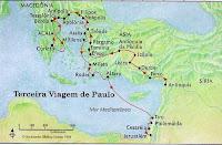 VIAGEM MISSIONÁRIA, APOSTOLO PAULO, ESTUDOS BIBLICOS, TEOLOGIA