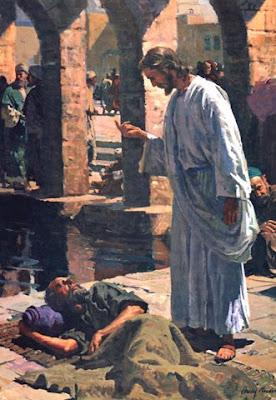 tanque de betesda, cura do paralitico, estudos biblicos
