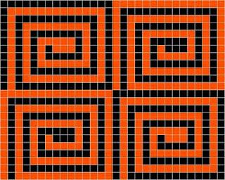 Four spirals II