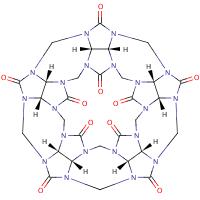 cucurbit[5]uril in 2-D