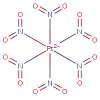 hexanitroplatinate(2-) with pentavalent nitrogen