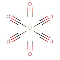 hexacarbonylvanadium without charge separation