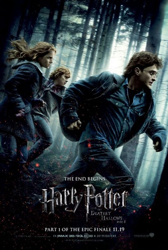 harry potter and the deathly hallows movie poster. harry potter and the deathly