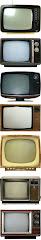 Televisores segun pasan los años. Amigos cada vez más completos e incondicionales