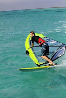 windsurfing green island