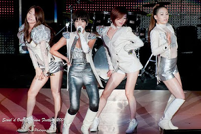 Brown Eyed Girls at Seoul'd Out 2009 in Singapore