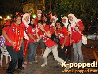 World Cup Street Cheering at Little Korea, Ampang