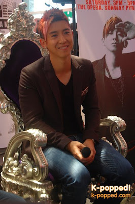 Brian Joo spreads his wings