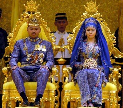 Princess hamidah wedding