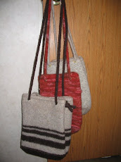 Totes with drawstring straps