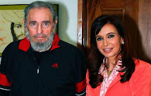 Cristina S estuvo con Fidel. Fidel S est vivo