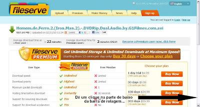 Imagem+1 Como Baixar Pelo FileServe? Download Filmes Grátis