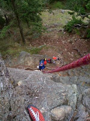 Climbing Mt. Erie