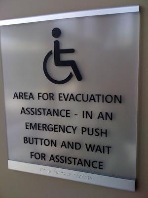 Evacuation area