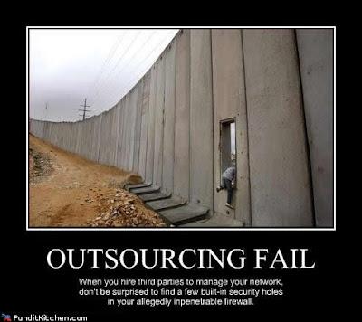 Outsourcing fail