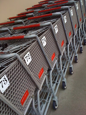 Shopping cart numbering