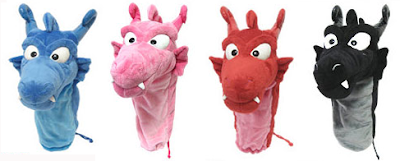 Double Glover Sweet Lover Plush Driver Headcovers From Japan