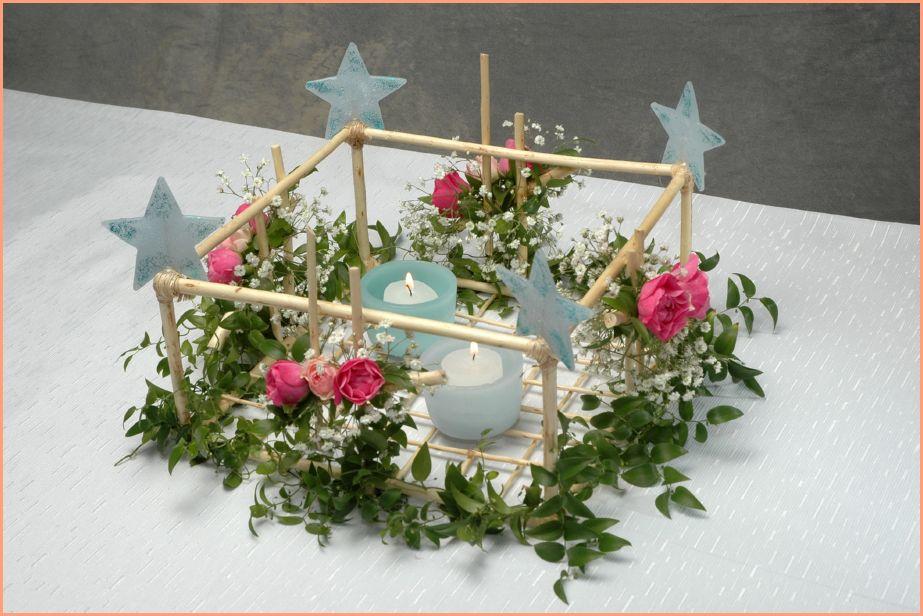 Centros de mesa con flores para 15 años