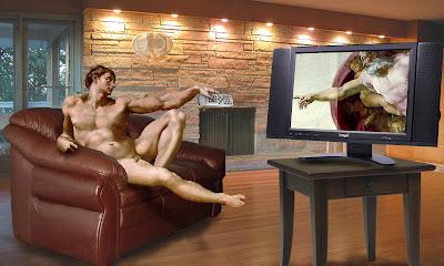 parody the creation of adam