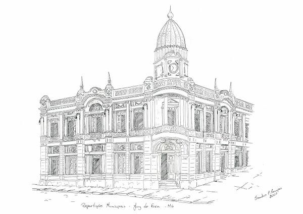 Antigo prédio da Prefeitura - Juiz de fora - MG