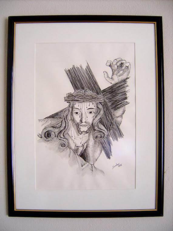 Cristo - baseado em uma escultura do Aleijadinho