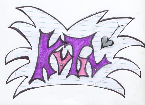Graffiti Con El Nombre De Katia | Graffiti Graffiti