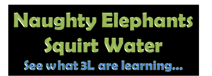 Naughty Elephants Squirt Water