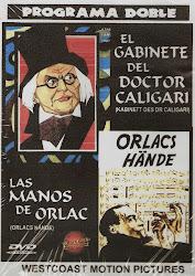 El Gabinete del Doctor Caligari + Las Manos de Orlac