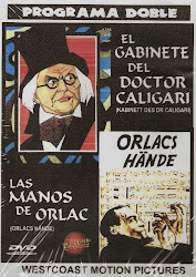 Las Manos de Orlac + El Gabinete del Doctor Caligari