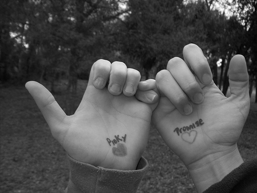 how to break a pinky promise