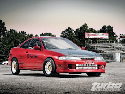 Tempest Racing Acura Integra Drag Car