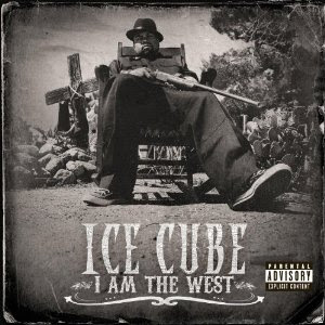 Capa Cd Ice Cube - I Am The West 2010