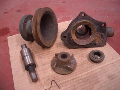 Barreiral bomba agua for Reparar banera picada oxido